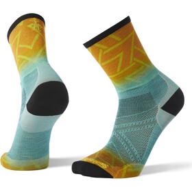 Smartwool PhD Run Ultra Light Print Crew Socks Herren capri
